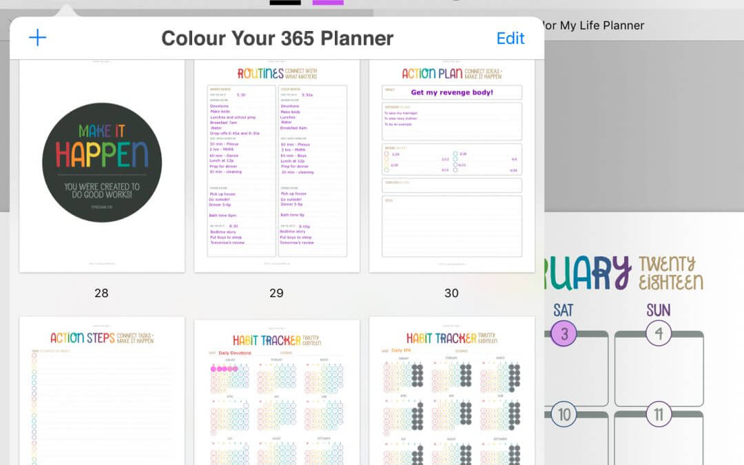HOW TO CREATE A DIGITAL PLANNER WITH PRINTABLES